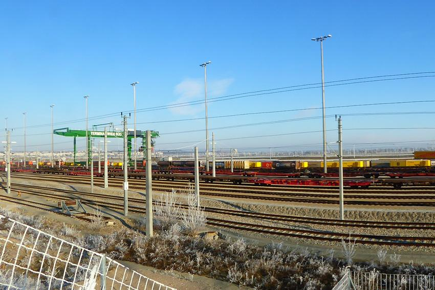 View of the Freight Centre Vienna South, which is in operation since 2016.